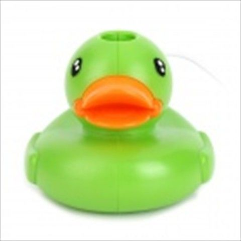 USB Powered Mini Duck Style Humidifier - Orange + Green  $16.07