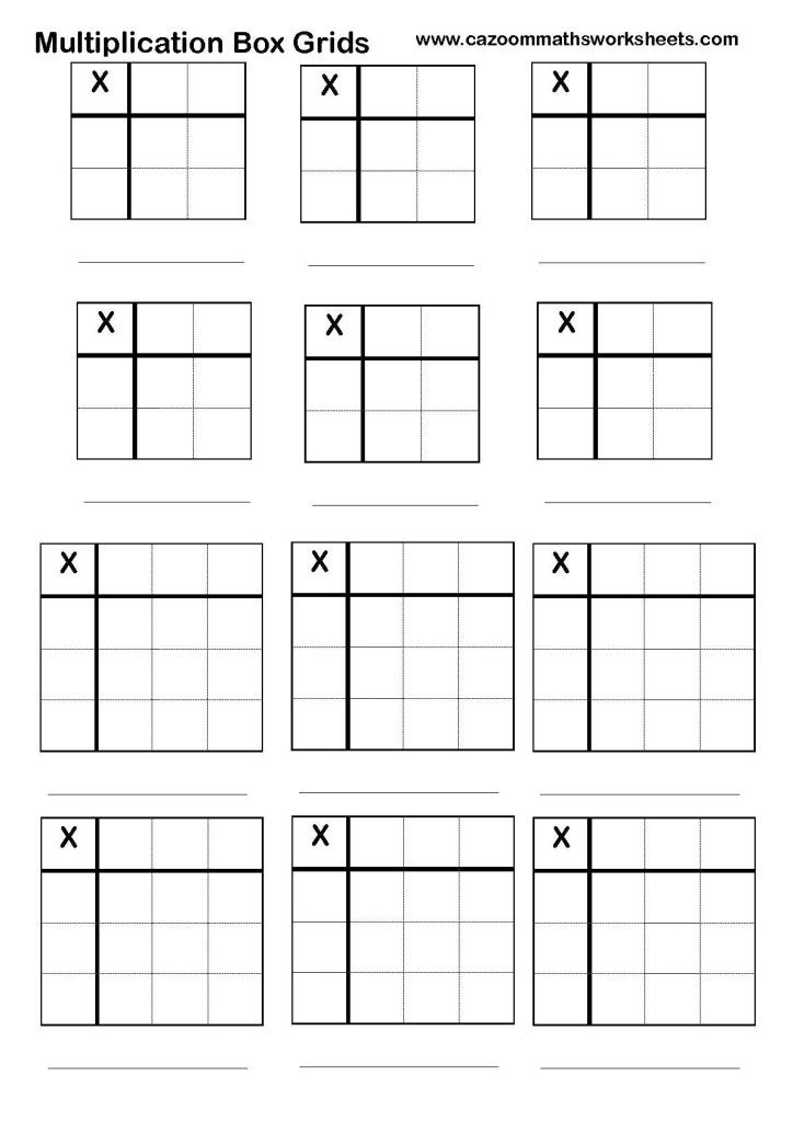 Cazoom Maths Worksheets Number Resources Math Worksheets Math Multiplication Math Coding School