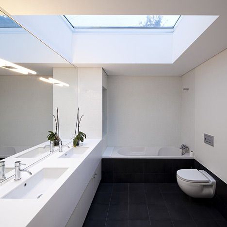 Top lit bathrooms can be beautiful