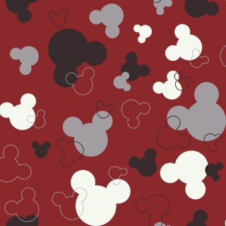 Pattern Name: Mickey Mouse Head-Disney   Collection: 728-Disney    Features: Prepasted - Washable - Strippable   Match Type: Drop    Pattern Repeat: 20.5 In.    Roll Dimensions (Double Roll):  20.5 in.   x 33 ft. = 56 sq.ft  52 cm x 10m = 5.2m sq.