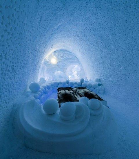 Hotel particolari in Europa: Ice Hotel Svezia (Fotogallery)