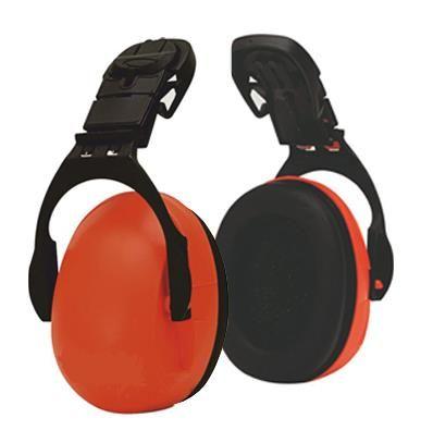Protetor auricular alta flexibilidade adaptável para capacete.