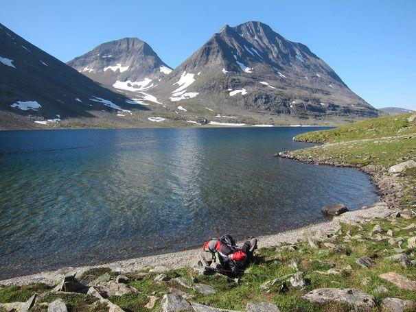 Lulep Njoatsosjavrre #trekking #sarek #sweden