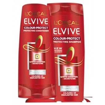 L'Oreal Elvive Repairing Shampoo Damage Care. Damaged or Brittle Hair. Ceramide-Cement fills in cracks, seals the cuticle helps repair hair, silky feel.  Helps repair damaged hair, enriched with the natural cement found in hair. Replenished and protected from root to tip, your hair is strengthened with lasting protection. Rediscover silky, supple hair!  Made in UAE