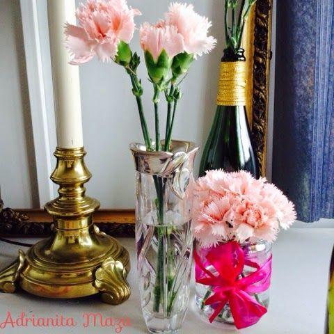 Adrianita Maza: AdyTip para alargar la vida de tus flores (Decora tus floreros)