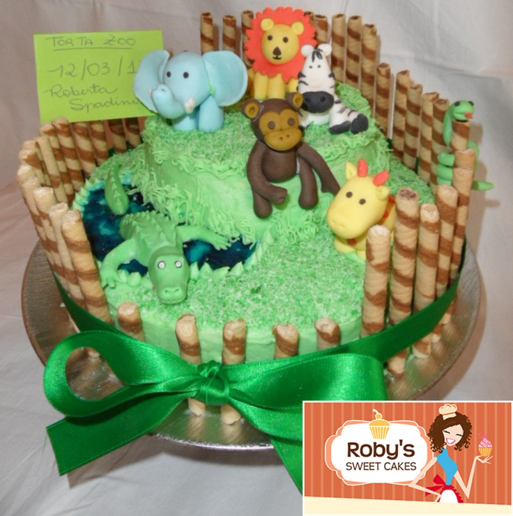 Zoos, Cakes And Zoo Cake
