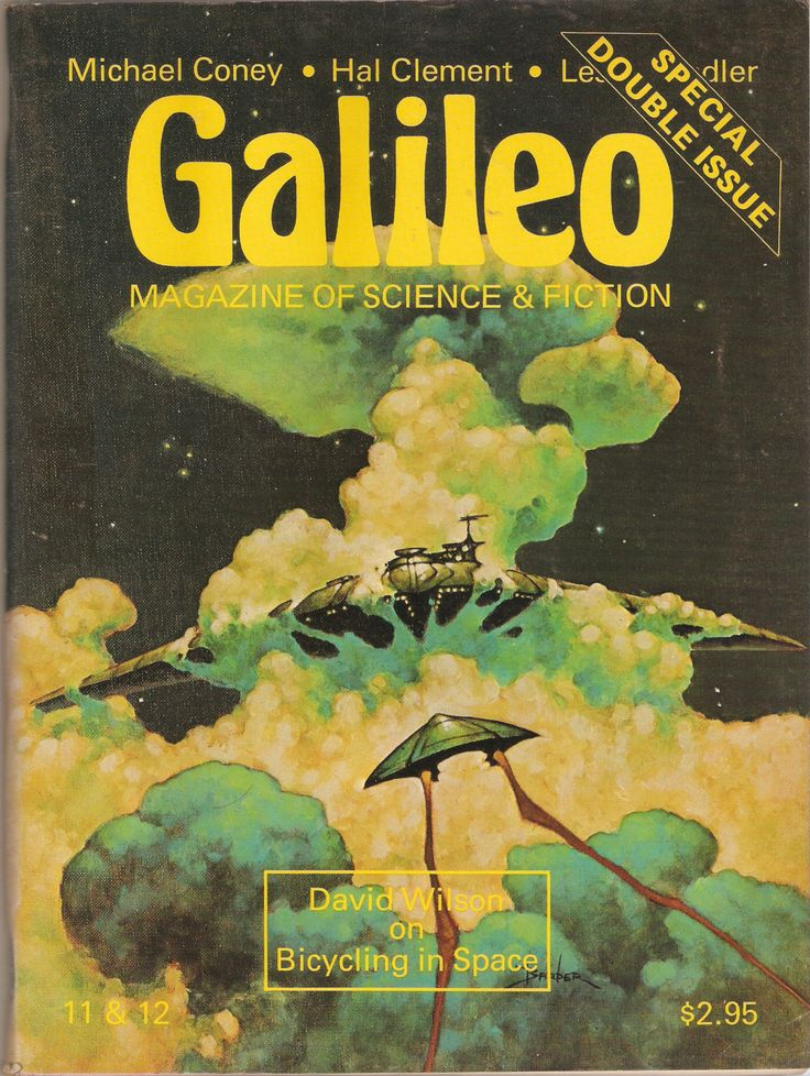 Galileo Magazine of Science Fiction 11/12 Special Double Issue by Francopuces on Etsy