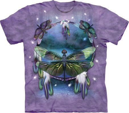 Tričko Lapač snů s vážkou