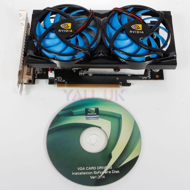 GeForce GTX650TI 2GB 384Bit DDR3 PCI-E GK106 DVI HDMI Graphics Video Card UK