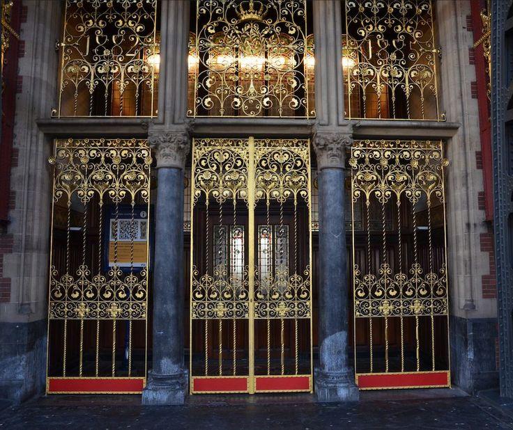 deuren Koninklijke wachtkamers, Pierre Cuypers | Anno1900