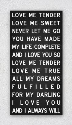 Wedding Song Lyrics on Pinterest   Lyrics On Canvas, Diy Canvas ...
