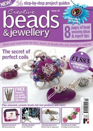 203 best bead magazines images on pinterest bead weaving bead creative beads and jewellery 19 fandeluxe Images