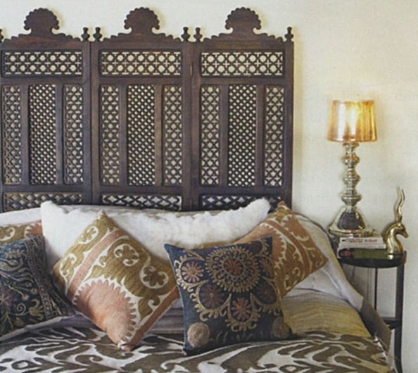 133 best images about headboards bohemian unusual ethnic style on pinterest mantel headboard. Black Bedroom Furniture Sets. Home Design Ideas