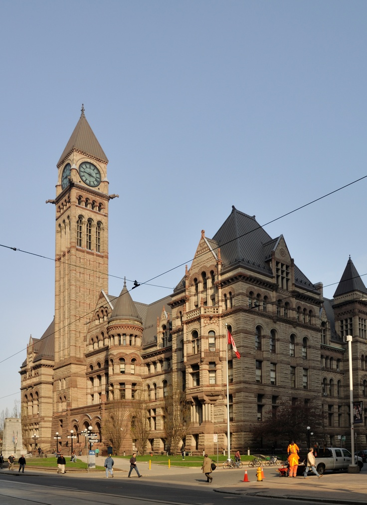 Wish we would use Toronto's Old City Hall for something else besides a courthouse. It is so beautiful inside!