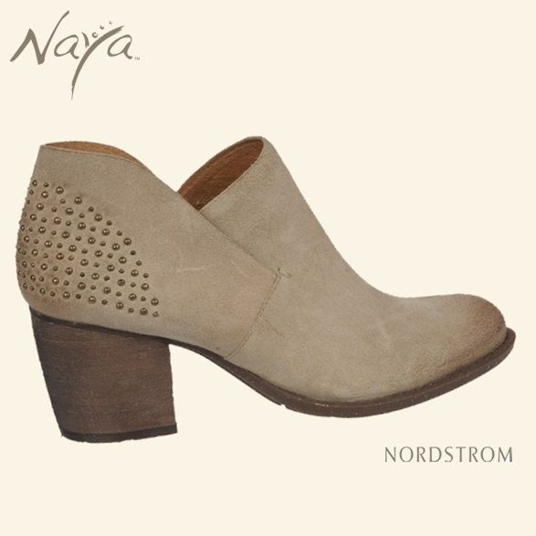Studded suede ankle boot by Naya Shoes. Get the Naya Valerie at Nordstrom and Nordstrom.com!