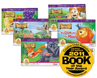 These are the original Little Reader Storybooks in large-print format. Available only while stocks last! - See more at: http://www.brainychild.com.au/aesops-fables-storybooks/#sthash.RdvlVBlo.dpuf