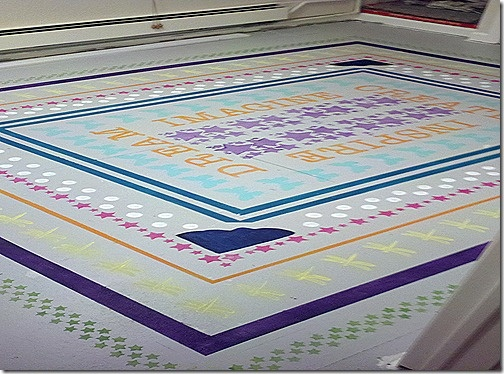 Find This Pin And More On Painted Rugs U0026 Floors By Frogtape.