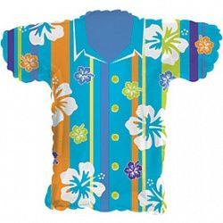 Шар (31''/79 см) Фигура, Гавайская рубашка, 1 шт.