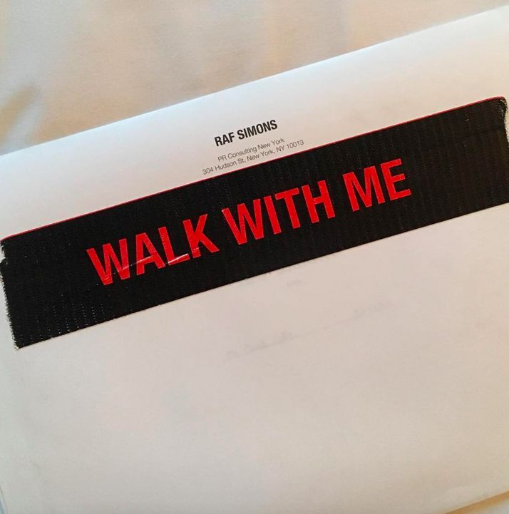 WALK WITH ME : RAF SIMONS DEBUTS AT NYFW FOR AW17-18 (ALL THE LOOKS + REVIEW) | your First Source for Fashion, Music, Art, Culture, Design, Content, Communication and Creation