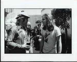 Elton with Glen Frey,1975