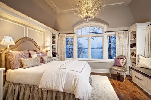 Feng Shui Bedroom - Relaxing Bedroom with Purple Lavender Décor - Feng Shui Design Your Bedroom with a Professional Consultation at the link.
