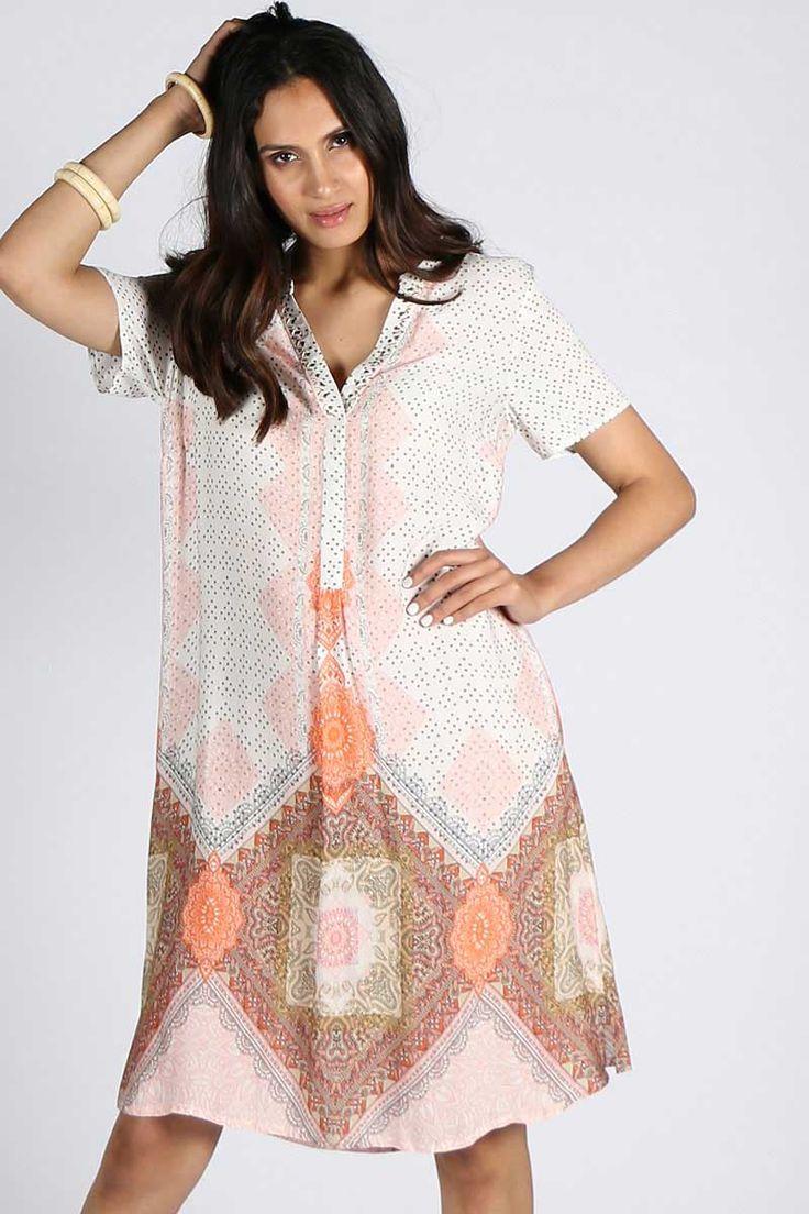 Verge - Delmar Dress By Verge In Print