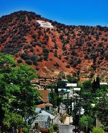 Bisbee, AZ: B Hill