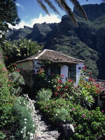 Masca a beautiful tiny village in the mountains of Tenerife.