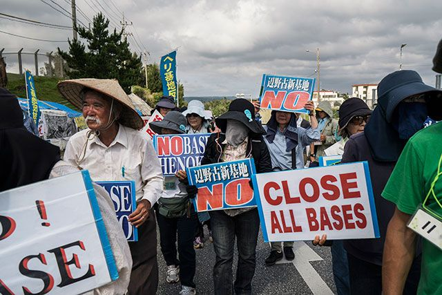 """""""Okinawa Women Demand US Forces Leave After Another Rape and Murder--Takazato Suzuyo of Women Against Military Violence puts this crime in the historical context of human rights violations against the Okinawan people."""" One of our 700+ military bases around the world."""