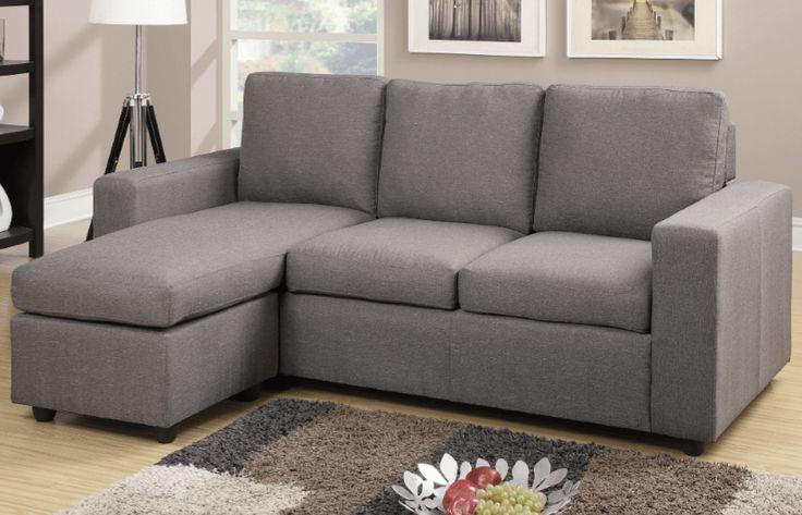 Farnham Sectional Sofa in Grey LHF