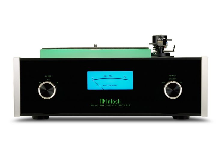 McIntosh MT10 Turntable Audio Source available at Mir Audio Video! Check us out at www.miraudiovideo.com