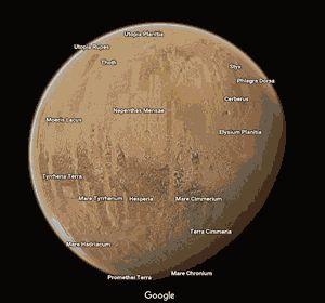 Mars The Google Hoax