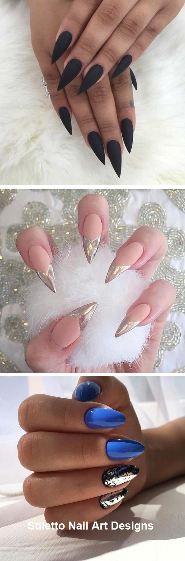 30 Ideen für großartige Stiletto-Nageldesigns #naildesign #stiletto – Schön