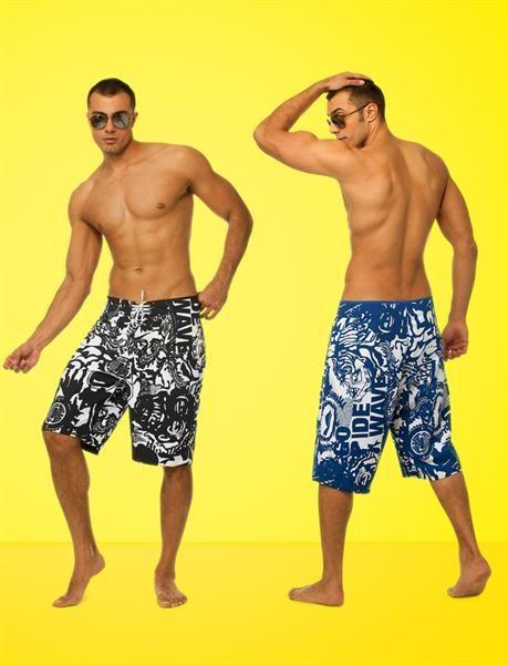 Мужские пляжные шорты ямамей