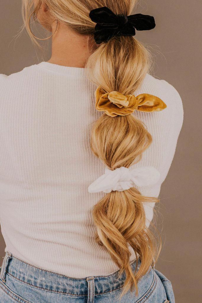 Harvest Knot Scrunchie Set | ROOLEE Accessories #hairmakeup
