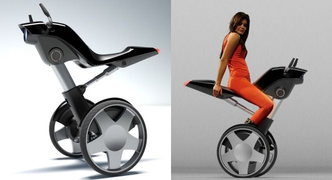 A horse-like electric wheelchair.  >>> See it. Believe it. Do it. Watch thousands of spinal cord injury videos at SPINALpedia.com