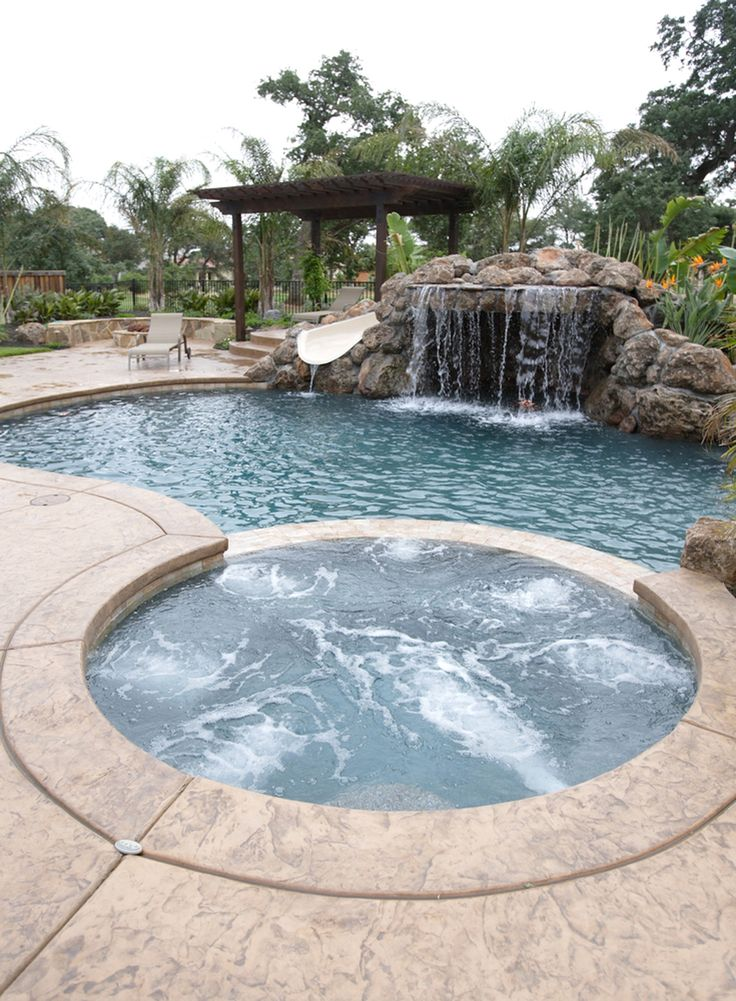 2023 best images about if i had a backyard oasis on - Swimming pool designs with waterfalls ...
