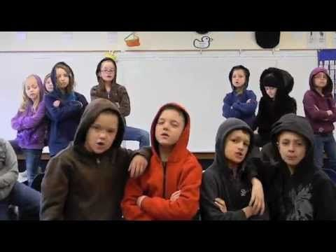 WHOLE CLASS SINGING THE PLACE VALUE SONG