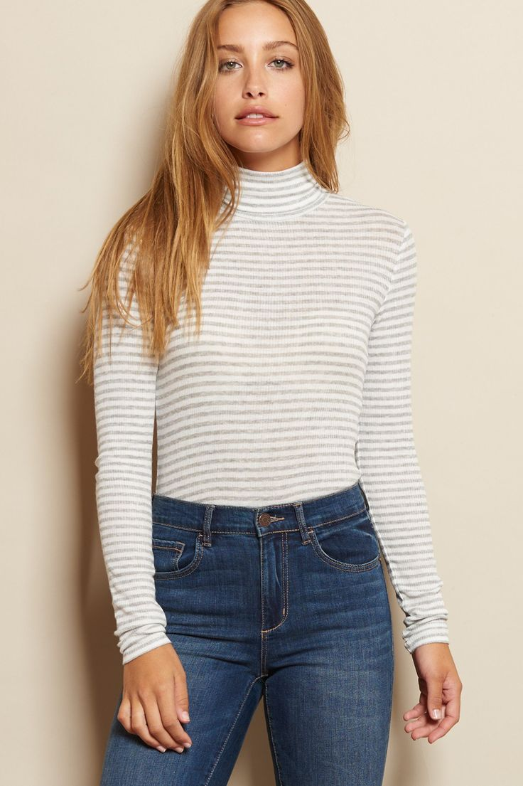 Bodycon Turtleneck Top