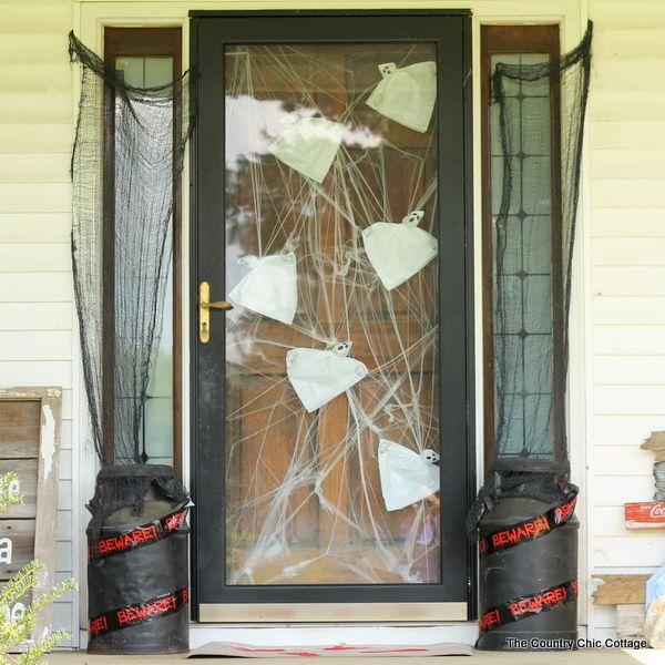 diy halloween porch decorations