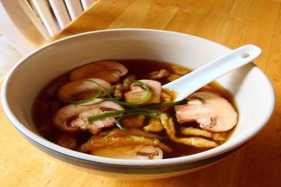 Miyabi Japanese Onion Soup. Photo by Chef JDilly
