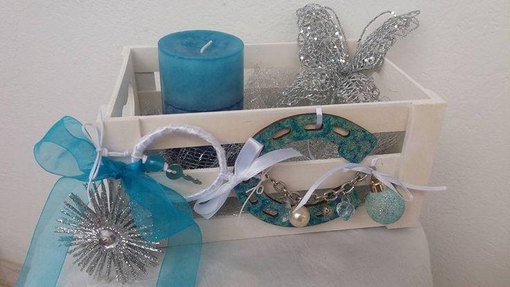 Αγαπημενο μου χρωμα το μπλε!! Μια διακοσμηση διαφορετικη απο τα δεδομενα των εορτων!και συναμα γιορτινη!! ΜΟΝΑΔΙΚΗ!!