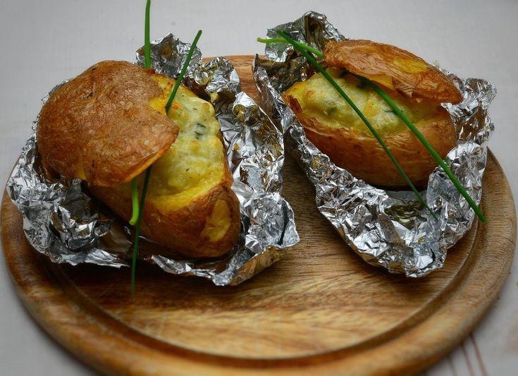 Patate al Forno con Gorgonzola