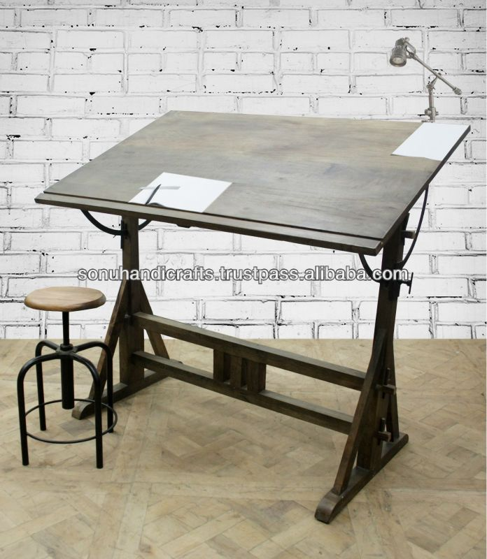 25 Best Ideas About Wood Drafting Table On Pinterest