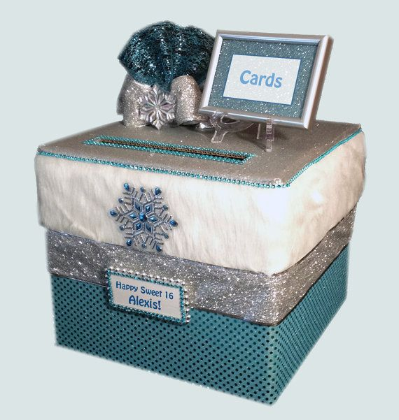 sweet 16 cardwinter wonderlandcard by allthebestcardboxes