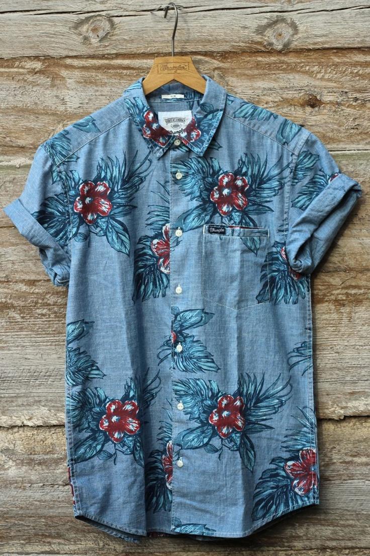 Wrangler SS13 - Hawaii shirt