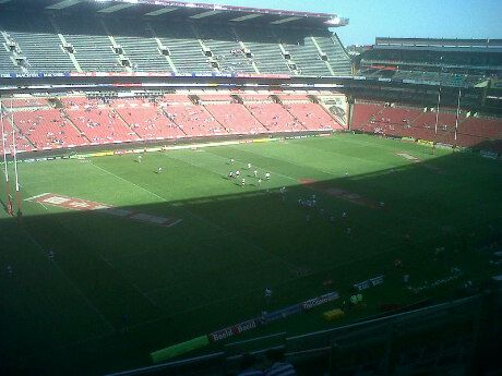 Home of the mighty Golden Lions Rugby Union, and home of South African Rugby