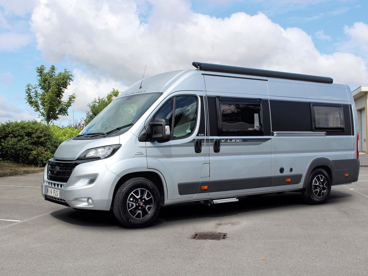 Practical Motorhome's 2016 Auto-Trail V-Line 635 SE review - front - The 2016 Auto-Trail V-Line 635 SE is 6.36m long, 2.05m wide and 2.8m high (© Practical Motorhome)