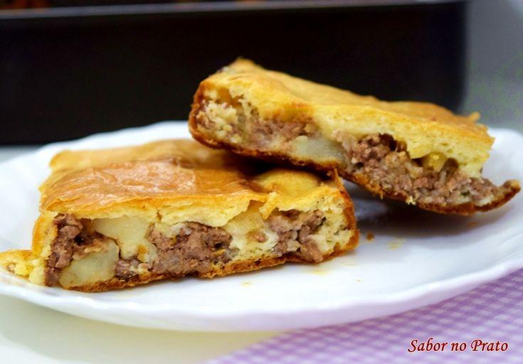 Torta de Carne Moída de Liquidificador | Sabor no Prato