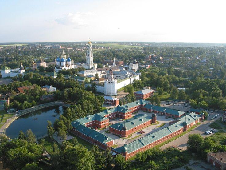 Город Сергиев Посад Москва